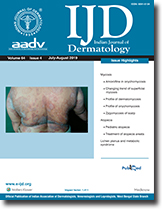 Indian Journal of Dermatology: Table of Contents